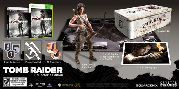 Square Enix Reveals Tomb Raider Collector's Edition
