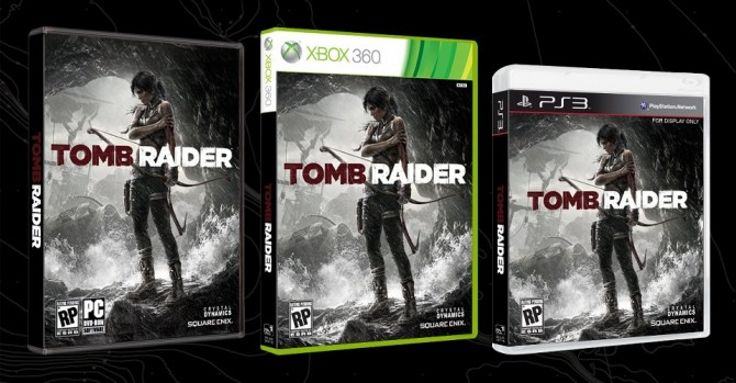 Official Tomb Raider Box Art Revealed