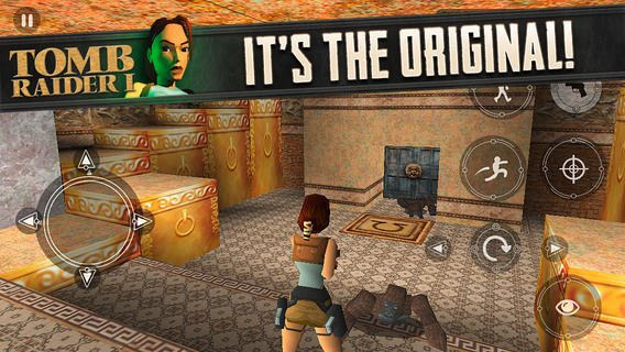 tomb raider original ios