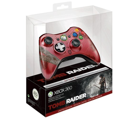 Tomb Raider Limited Edition Xbox 360 Wireless Controller Product Review And Unboxing