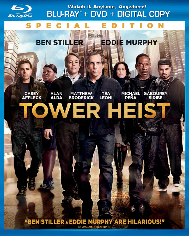 Tower Heist Blu-Ray Review