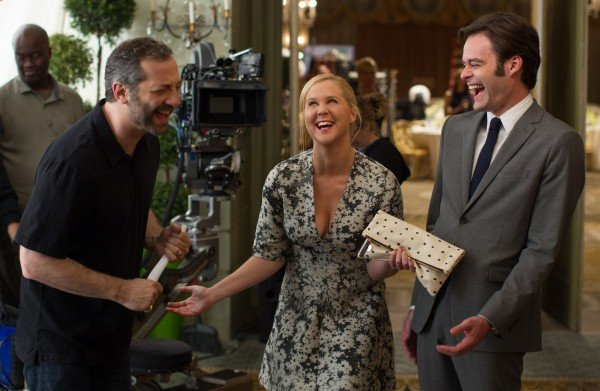 Amy Schumer Cracks Up In First Trainwreck Image