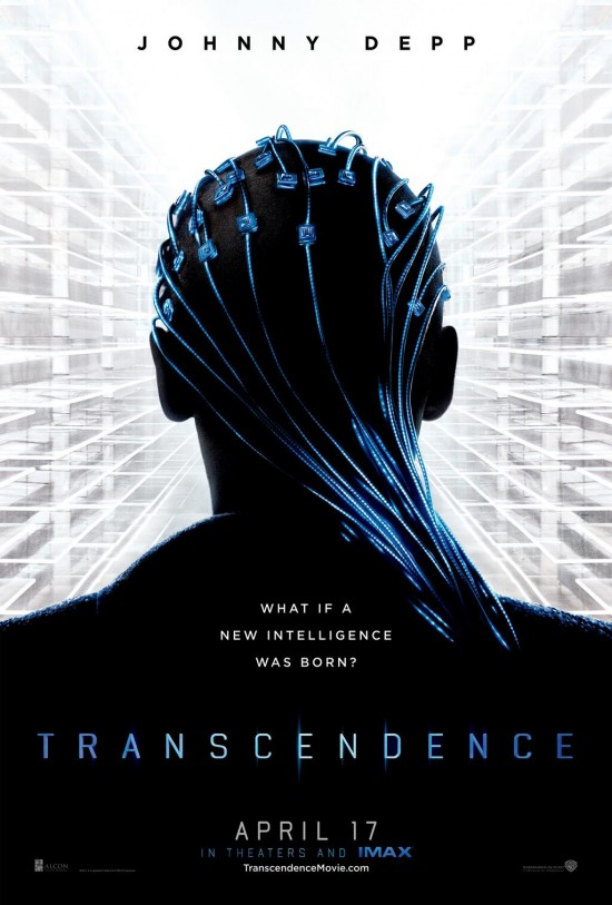 Johnny Depp Is Plugged In On First Transcendence Poster