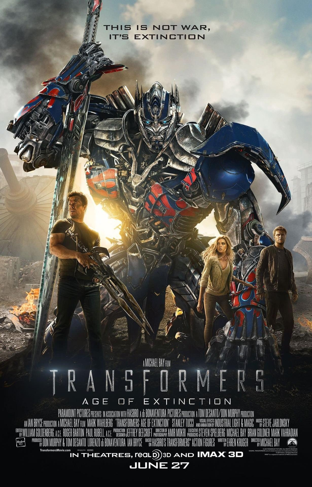 Transformers: Age Of Extinction Review