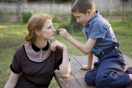 tree of life photo jessica chastain tye sheridan The Tree Of Life Review