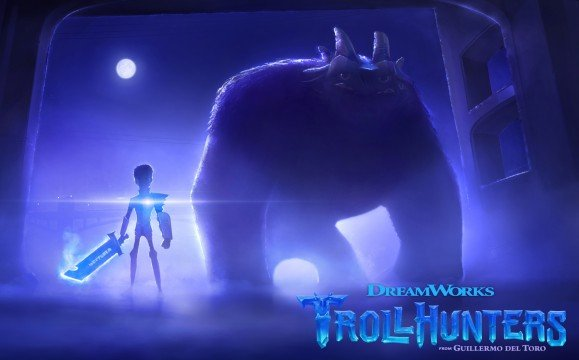 Get Your First Look At Guillermo Del Toro's Trollhunters Netflix Series
