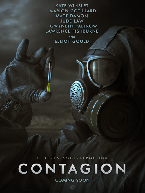 First Poster For Steven Soderbergh's Contagion