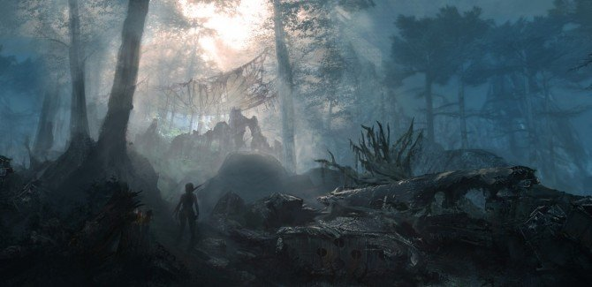 Five New Pieces Of Tomb Raider Concept Art
