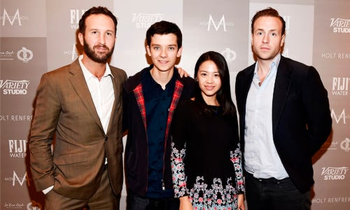 Exclusive Interview With Asa Butterfield Jo Yang And Morgan Matthews On X+Y