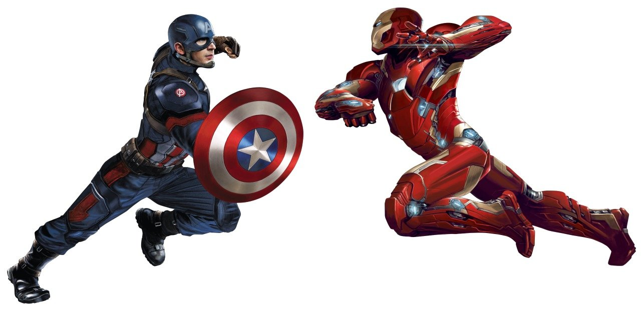 Pick A Side With Even More Awesome Captain America: Civil War Promo Art