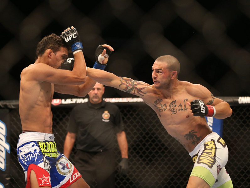 Smells Like A Fix: Cub Swanson vs. Charles Oliveira At UFC 152