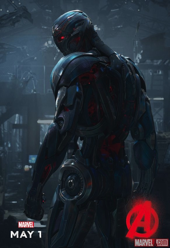The Villainous Ultron Takes Center Stage In New Avengers: Age Of Ultron Poster