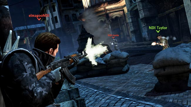 uncharted 2 multiplayer Uncharted 3 Multiplayer Beta Hands On Impressions