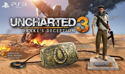 Uncharted 3 Collector's Edition And Pre-Order Bonus Details