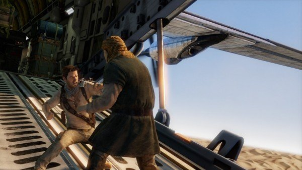 The Uncharted 3: Drake's Deception Desert Gameplay Video Needs Water