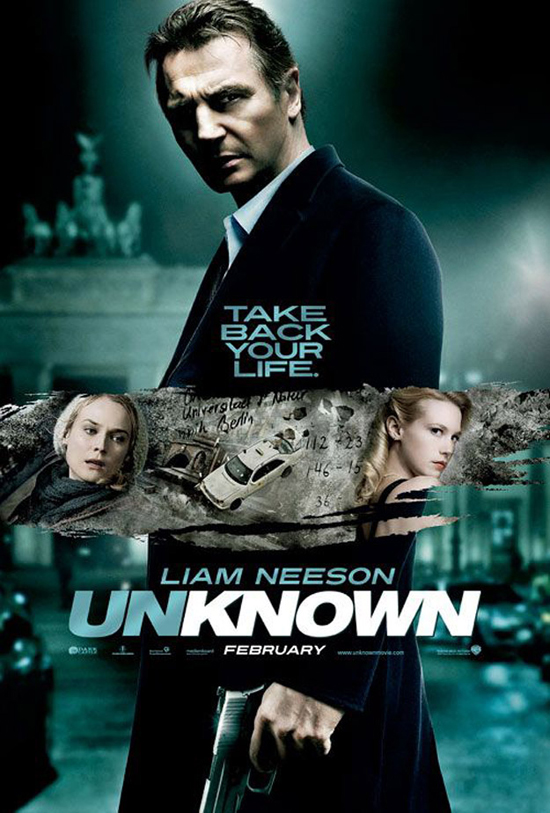 Poster For Unknown Arrives