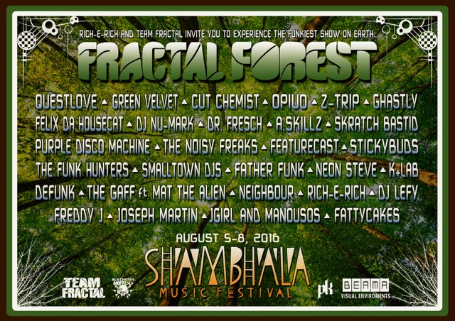 Shambhala's Full 2016 Lineup Is Here
