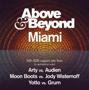 Above & Beyond Enlist Stellar Lineup For Miami Music Week Event