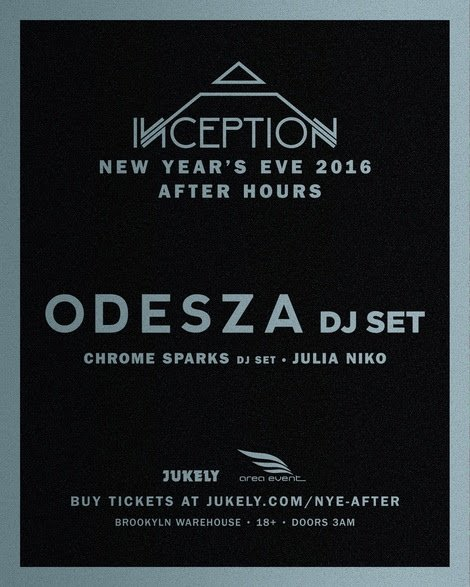 ODESZA To Headline NYE After Hours Warehouse Party In Brooklyn