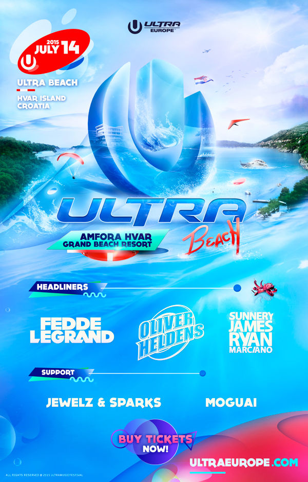 Get Your Swimsuits Ready, The Ultra Beach Lineup Has Been Revealed