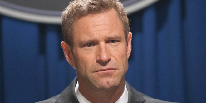 Roundtable Interview With Aaron Eckhart On Olympus Has Fallen