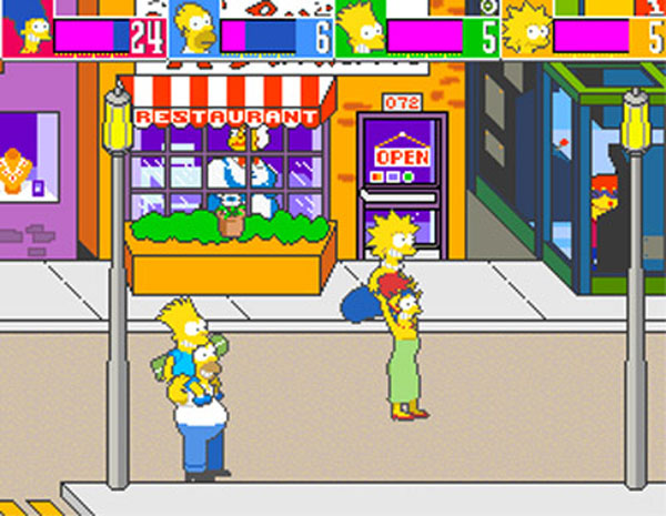 The Simpsons Arcade Game Review