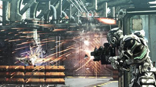 vanquish xbox 360 and ps3 first screens appear 3 Vanquish Review