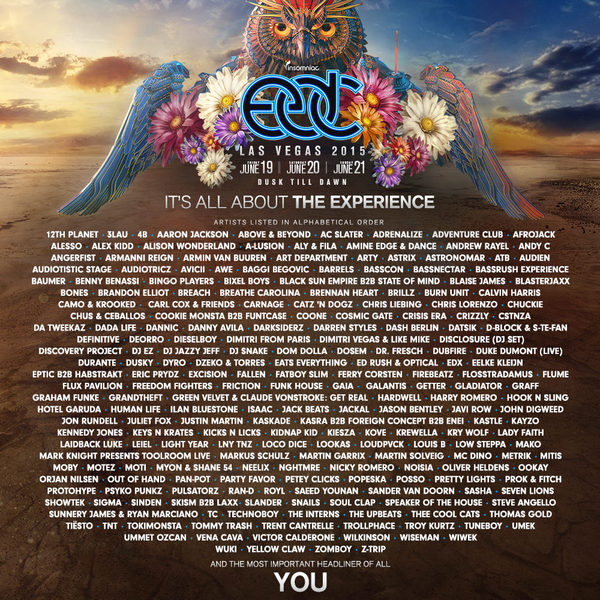 More Names Added To The EDC Las Vegas Lineup