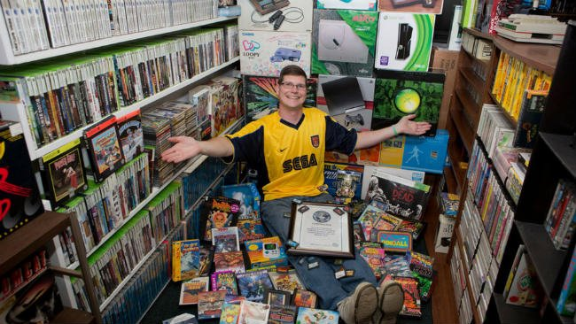 World's Largest Video Game Collection Goes For $750k At Auction