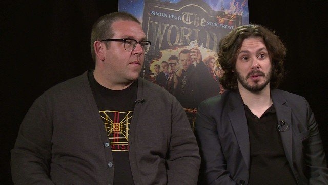 Exclusive Video Interview With Edgar Wright And Nick Frost On The World's End