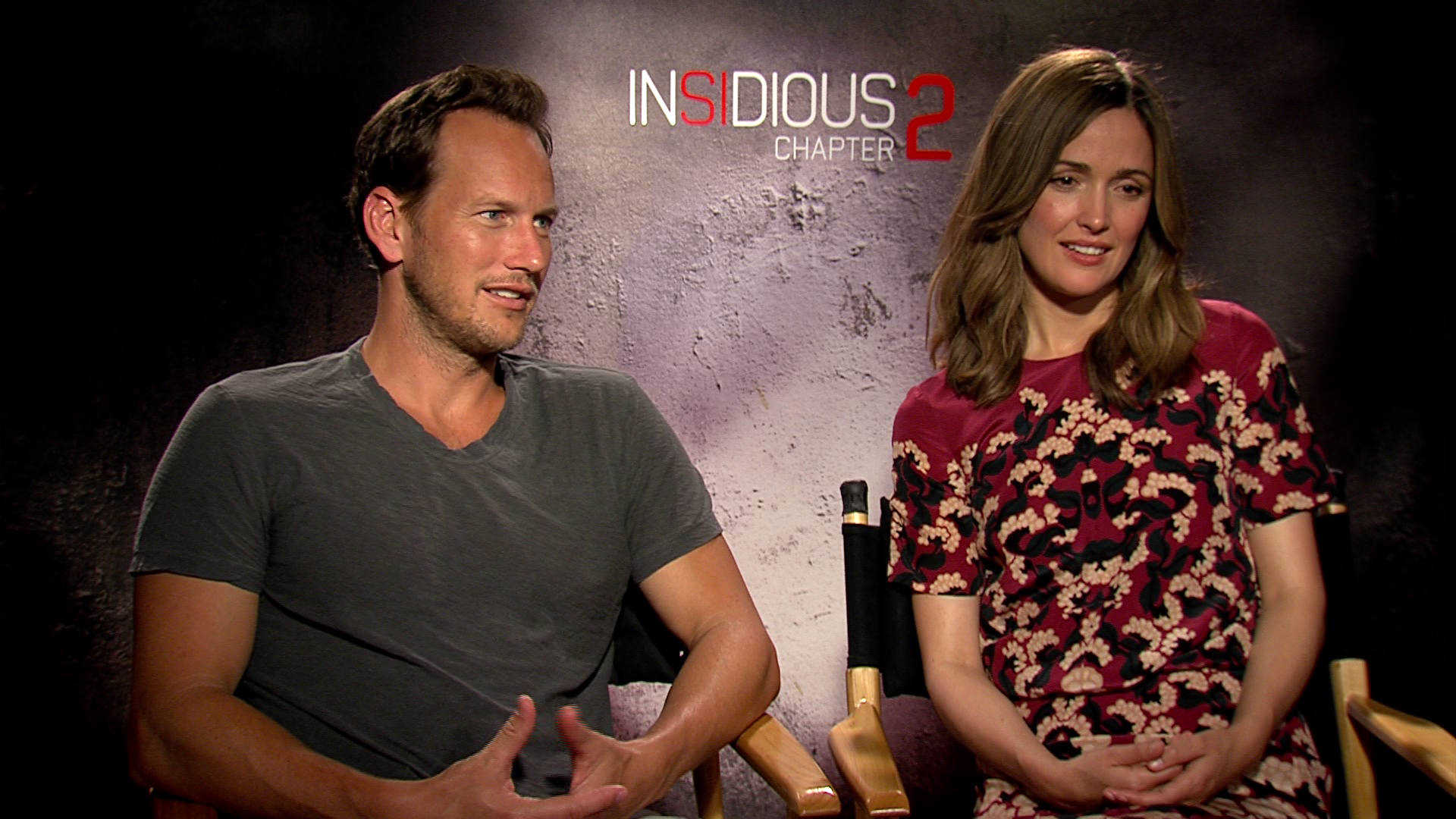Exclusive Video Interview With The Cast, Writer And Producer Of Insidious: Chapter 2