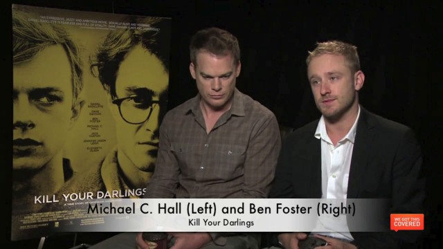 vlcsnap 2013 10 03 21h50m05s4 640x360 Exclusive Video Interview With Michael C. Hall, Ben Foster And John Krokidas On Kill Your Darlings