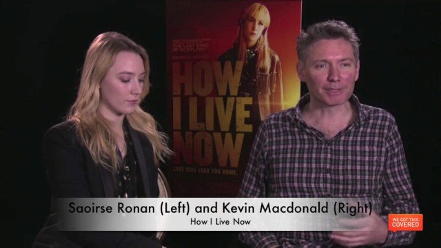 Exclusive Video Interview With Saoirse Ronan And Kevin Macdonald On How I Live Now