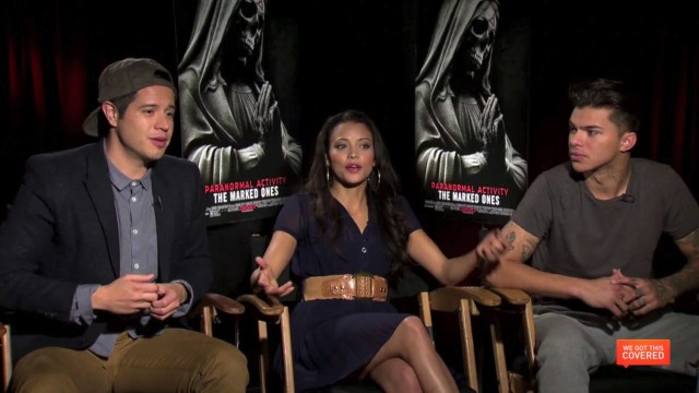 Exclusive Video Interview With The Cast Of Paranormal Activity: The Marked Ones