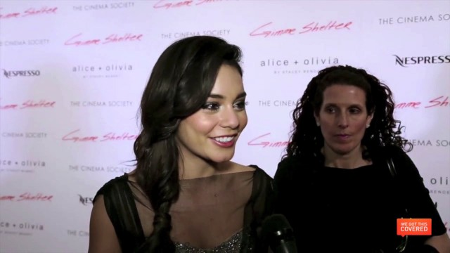 Talking To The Cast Of Gimme Shelter At The NYC Premiere
