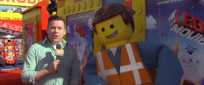Talking To The Cast And Producers Of The LEGO Movie At The World Premiere
