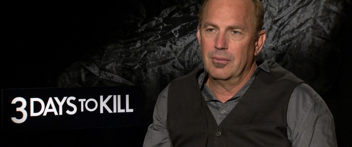 Exclusive Video Interview With The Cast And Director Of 3 Days To Kill