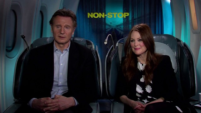 Exclusive Video Interview With Liam Neeson And Julianne Moore On Non-Stop