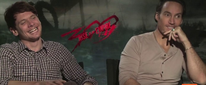 Exclusive Video Interview With The Cast Of 300: Rise Of An Empire