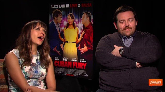 Exclusive Video Interview With Nick Frost And Rashida Jones On Cuban Fury