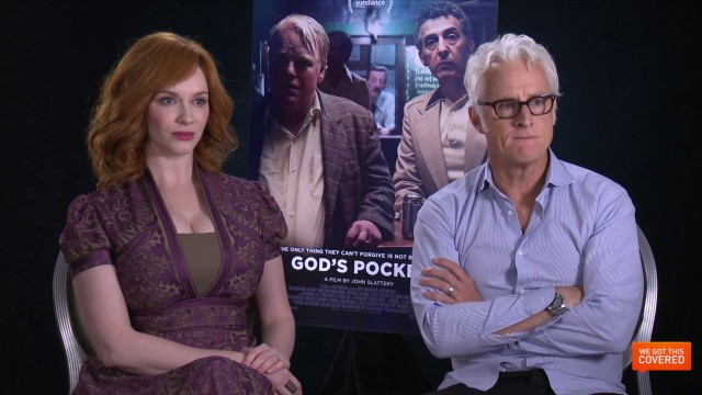 Exclusive Video Interview With John Slattery And Christina Hendricks On God's Pocket