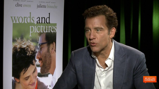 Exclusive Video Interview With Clive Owen And Fred Schepisi On Words And Pictures