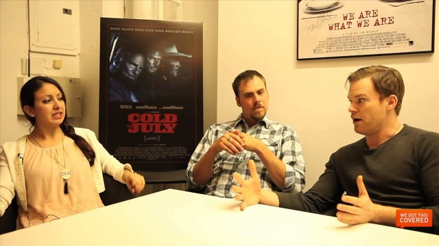 Exclusive Video Interview With Michael C. Hall And Jim Mickle On Cold In July