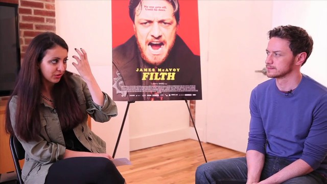 Exclusive Video Interview With James McAvoy On Filth