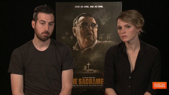 Exclusive Video Interview With The Cast And Director Of The Sacrament
