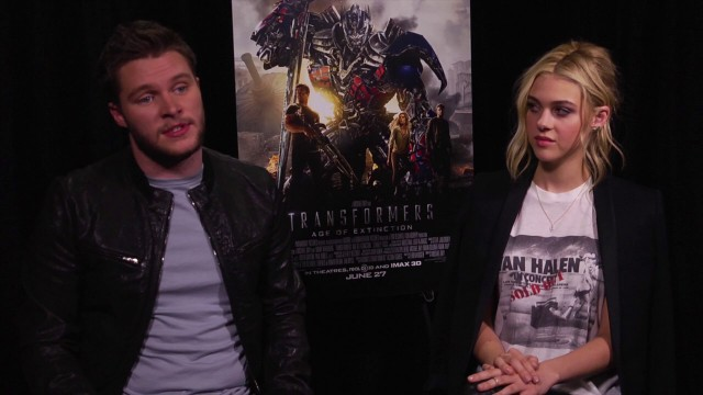 Exclusive Video Interview With Jack Reynor And Nicola Peltz On Transformers: Age Of Extinction