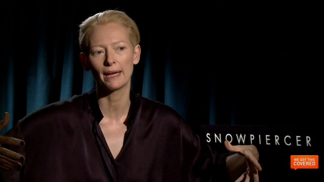 Exclusive Video Interview With Ed Harris And Tilda Swinton On Snowpiercer