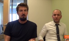 Exclusive Video Interview With Adam Wingard And Simon Barrett On The Guest