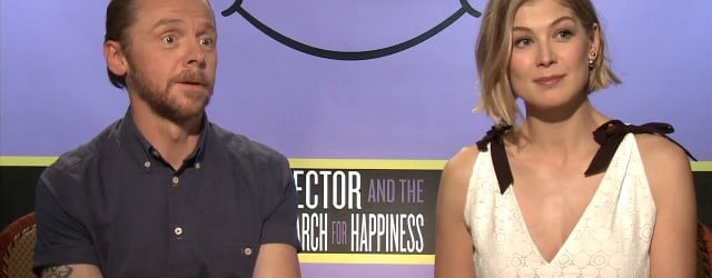 Exclusive Video Interview With Simon Pegg And Rosamund Pike On Hector And The Search For Happiness