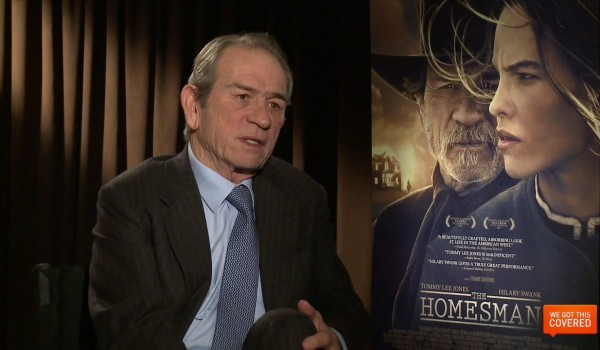 Exclusive Video Interview With Tommy Lee Jones And Hillary Swank On The Homesman